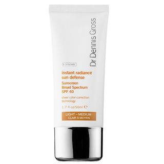 Instant Radiance Sun Defense Sunscreen Broad Spectrum SPF 40