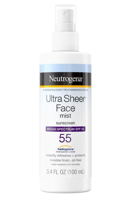 best sunscreen mist for face