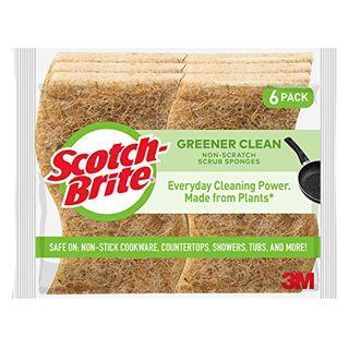 Scotch-Brite Greener Clean Non-Scratch Scrub Sponges