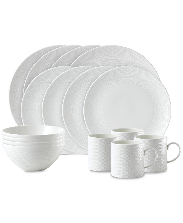 Gio 4-Piece Dinnerware Set