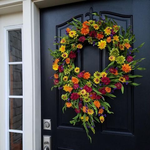 12 Best Summer Wreaths 12 - Summer Wreath Ideas for Front Doors