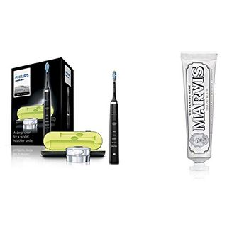 Dentifrice blanchissant Philips Sonicare DiamondClean Black Edition & Marvis Mint