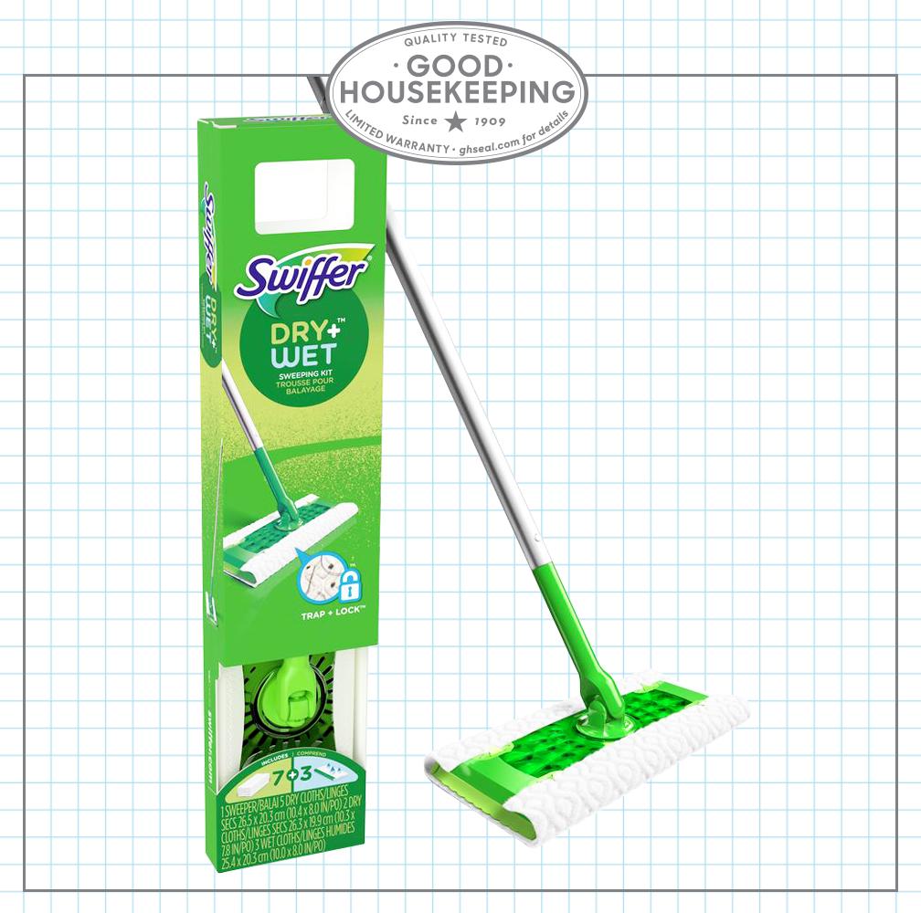 Gh Seal Spotlight Swiffer Sweeper Floor Mop Starter Kit
