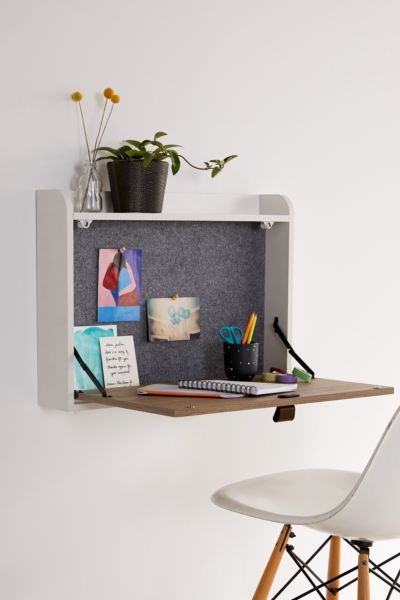 13 Floating Desks For Your Small Worke Wall Mounted