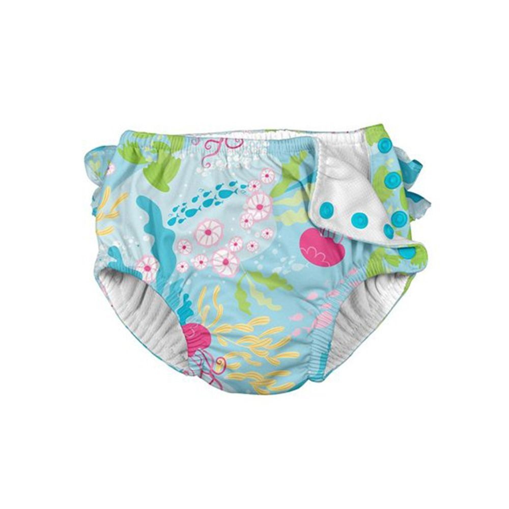iZiv Swim Diaper Newborn Infant Waterproof Adjustable Reusable Washable Pocket Swim Nappy Fit Babies 0-2 Year