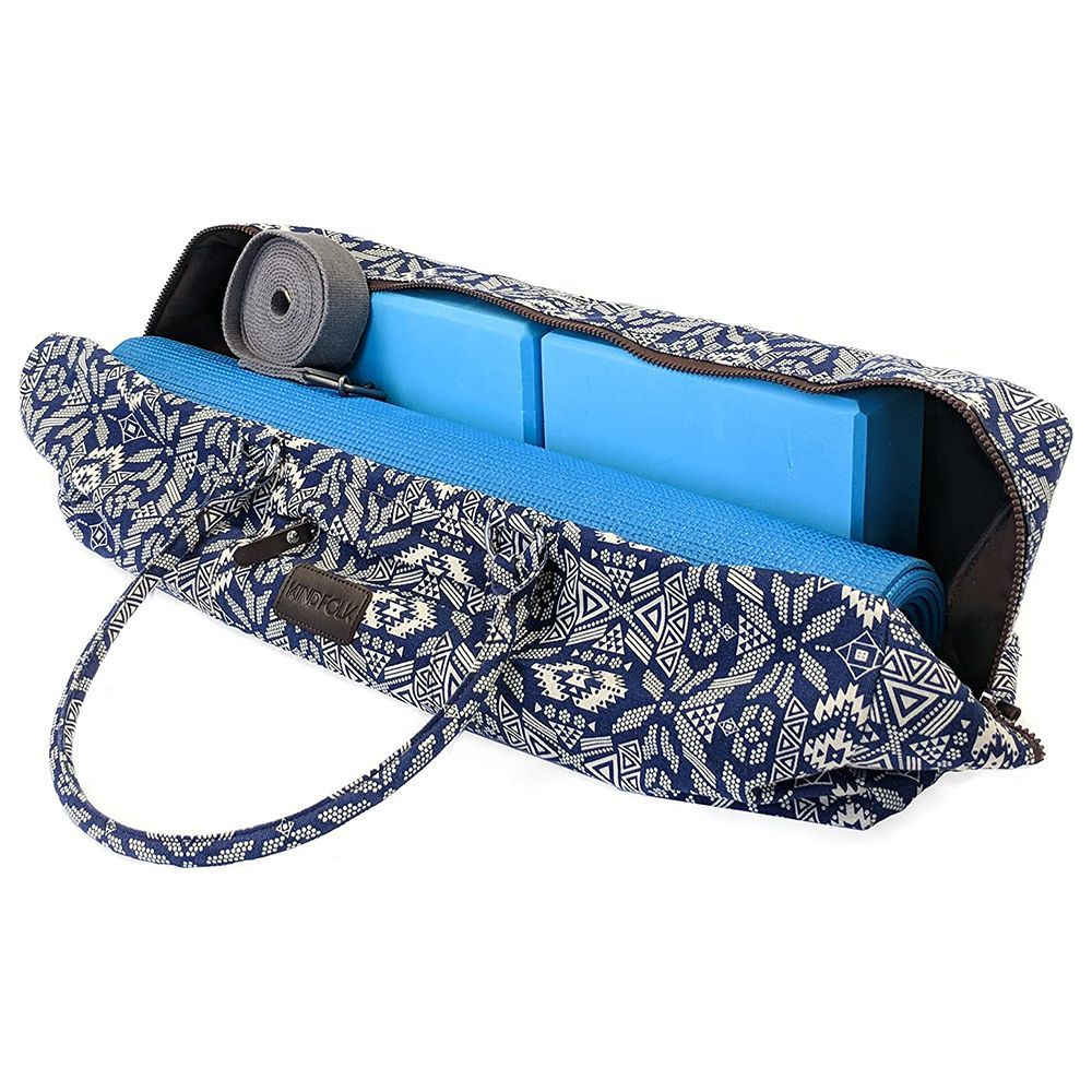 SukhaMat Fits Most Yoga Mat Sizes Large Yoga Mat Bag Carrier with 3 Storage Pockets Air-Vents and Adjustable Shoulder Strap Heavy Duty /& Machine Washable