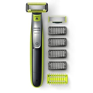 Philips Norelco OneBlade Face + Body, Hybrid Electric Trimmer and Shaver