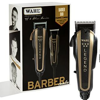 Wahl Professional 5-Star Barber Combo Legend ClippeSr and Hero T-Blade Trimmer