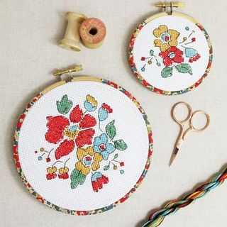 Cross Stitch Gift Set. Wall Hanging Kit