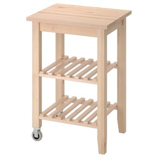 BEKVÄM Kitchen cart, birch