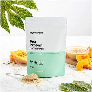 Pó de proteína de ervilha