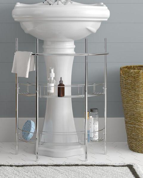 17 Best Under Sink Organizers For Bathrooms And Kitchens Easy Under Sink Storage Ideas
