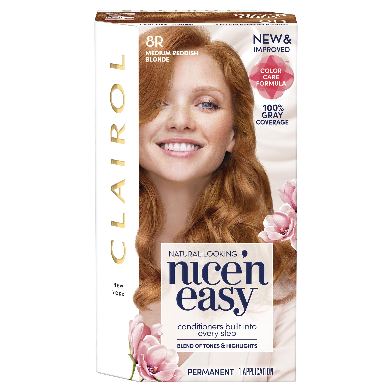 Clairol Nice 'n Easy Hair Color in Medium Reddish Blonde