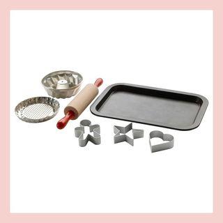 DUKTIG 7-piece toy baking set