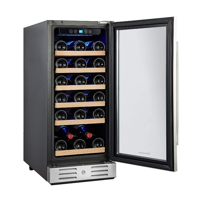 Thermostat Wine Cooler Refrigerator Small Household Mini Wine Cabinet Provide for The Best Weingenuss,1 CXD 8 Electronic Wine Cooler