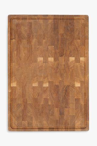 Oak-Wood End Grain Chopping Board