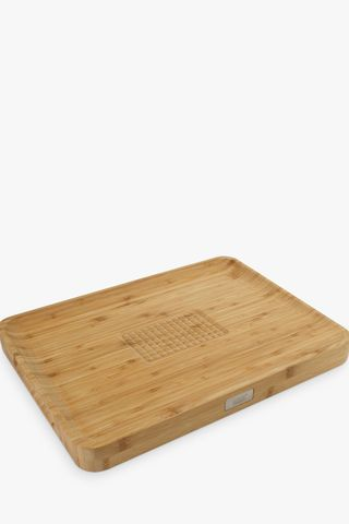Cut and Carve Bamboo Chopping Board