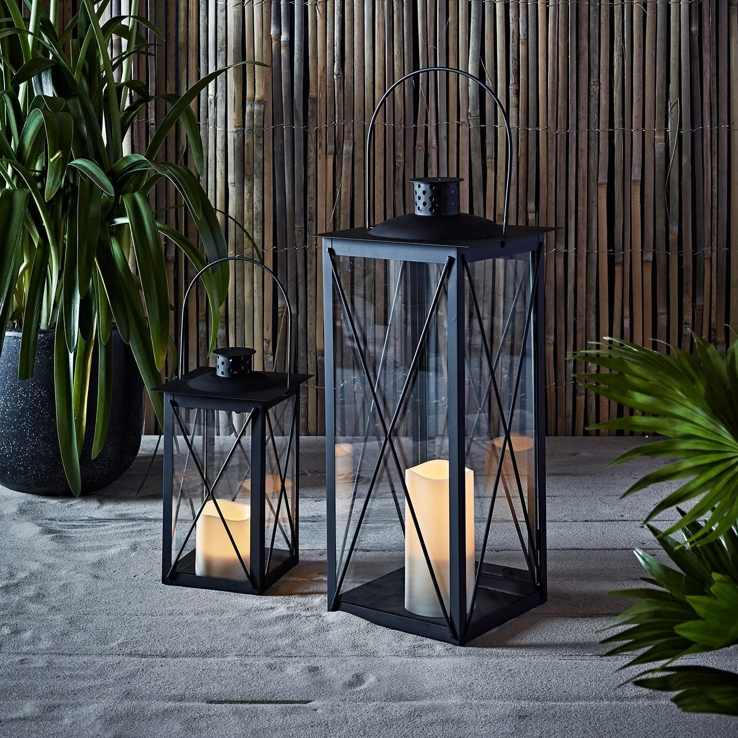 10 Best Outdoor Lanterns For Your Backyard Stylish Solar And Led Lanterns