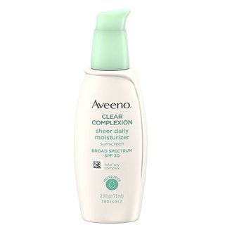 Aveeno Clear Complexion Sheer Daily Moisturizer - SPF 30 - 2.5 fl oz