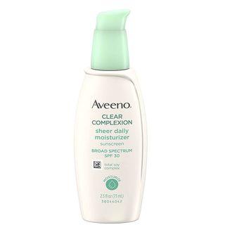 Aveeno Clear Complexion Sheer Daily Moisturizer - SPF 30 - 2.5 fl oz
