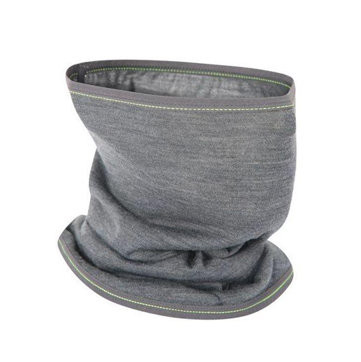 Grey BUFF Lightweight Merino Wool Headwear Scarf Face Snood Balaclava Outdoor