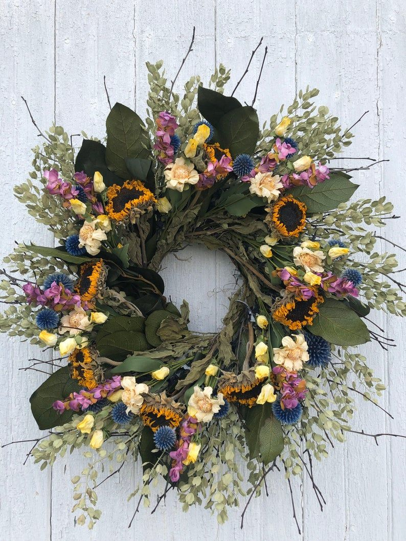 24 Best Summer Wreaths 2021 Summer Wreath Ideas For Front Doors