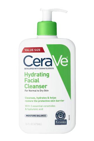 Detergente viso idratante per pelli da normali a secche