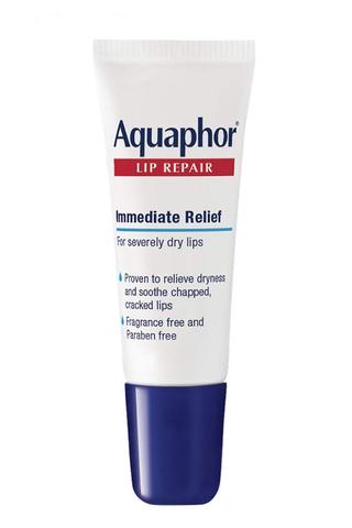 Unguento per la riparazione delle labbra Aquaphor - Umidità di lunga durata per lenire il tubo delle labbra secche e screpolate, 0,35 Fl Oz (confezione da 1)