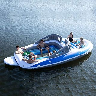 6-Person Inflatable Bay Breeze Boat