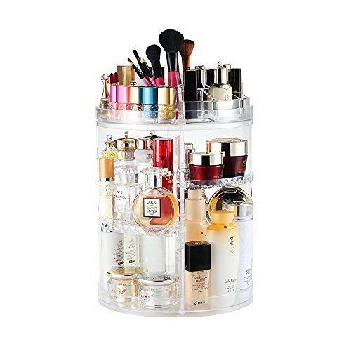 DECO EXPRESS Makeup Organiser, Rotating