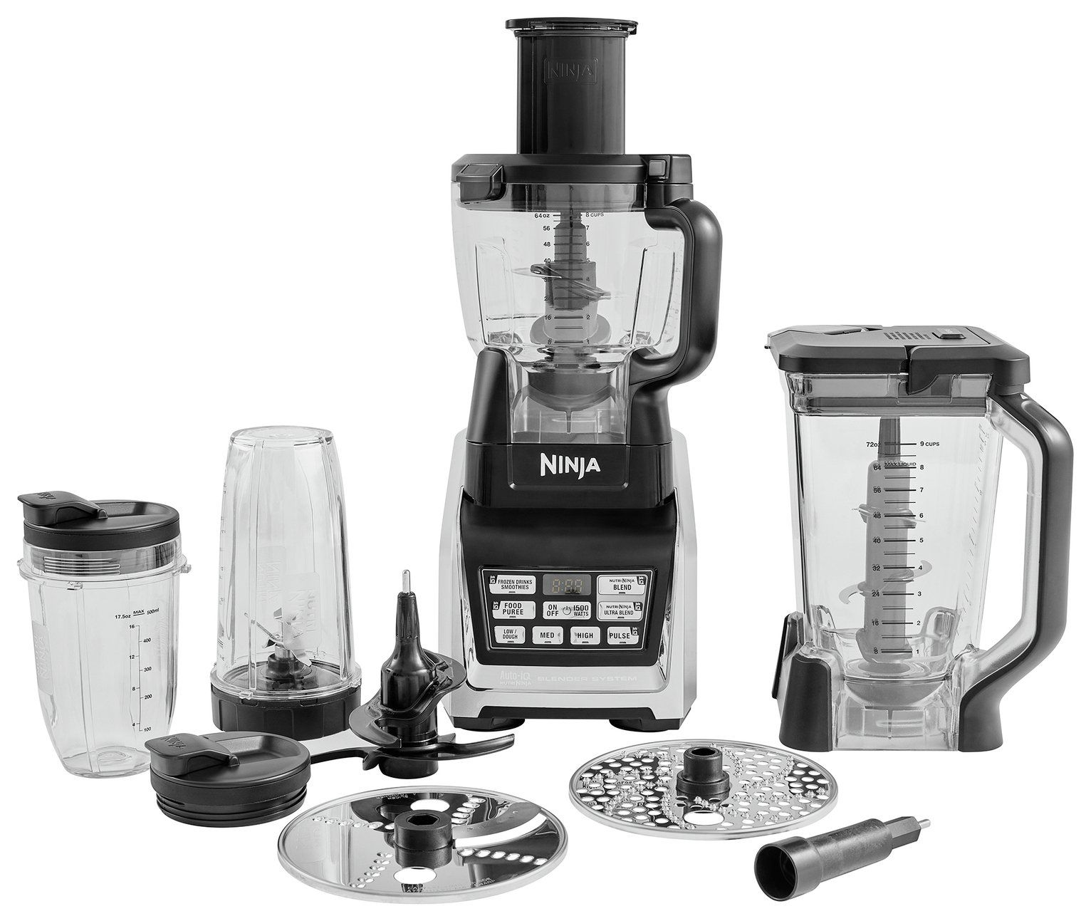 Ninja Blender and Food Processor System