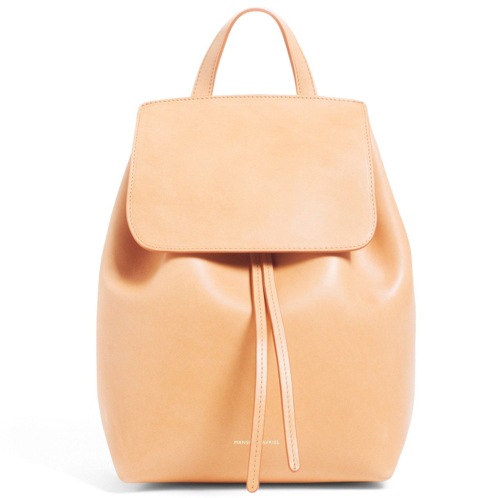 Mini backpack Leather backpack Small leather Backpack Drawstring leather backpack Leather backpack women Brown leather backpack purse