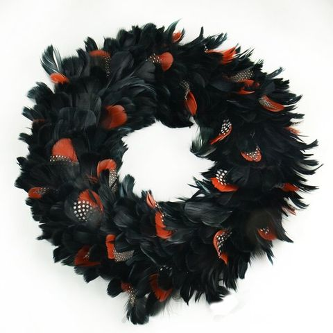 40 Best Halloween Wreaths - DIY Halloween Wreath Ideas
