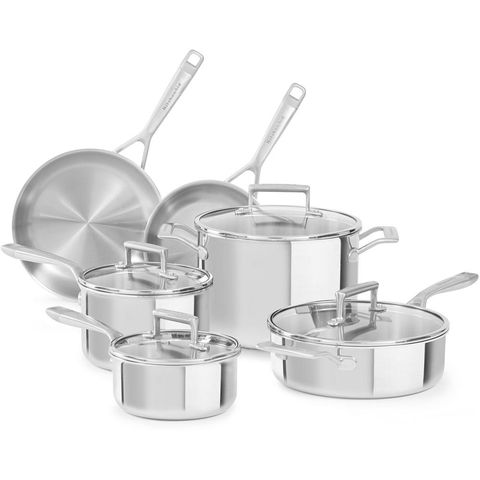7 Best Stainless Steel Cookware Sets For 2021 Top Rated Stainless Steel Cookware Reviews