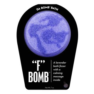 "Da Bomb""F"" Bath Bomb, Purple"