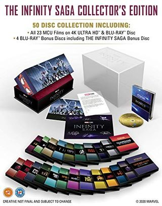 Marvel Studios: Die Infinity Saga - Sammleredition [Blu-ray, region-free]