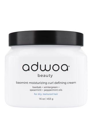 Adwoa Beauty Baomint Moisturizing Curl Defining Cream
