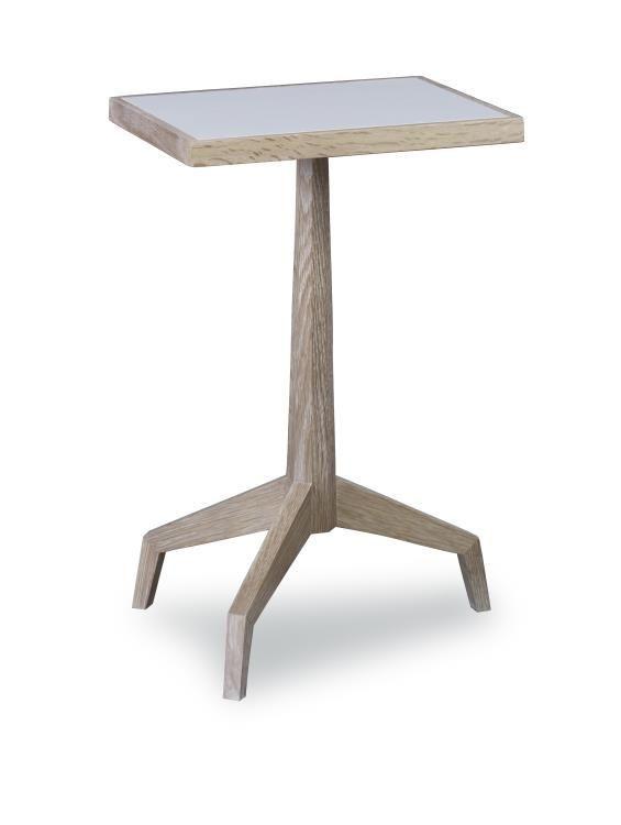 Anself Hammered Aluminium Round Side Table Stool Brass