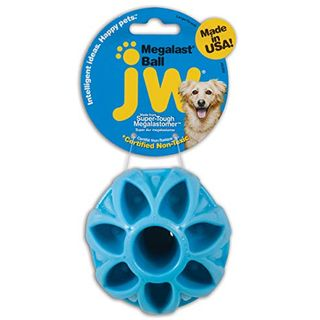 JW Pet Company Megalast Ball dog toy, great