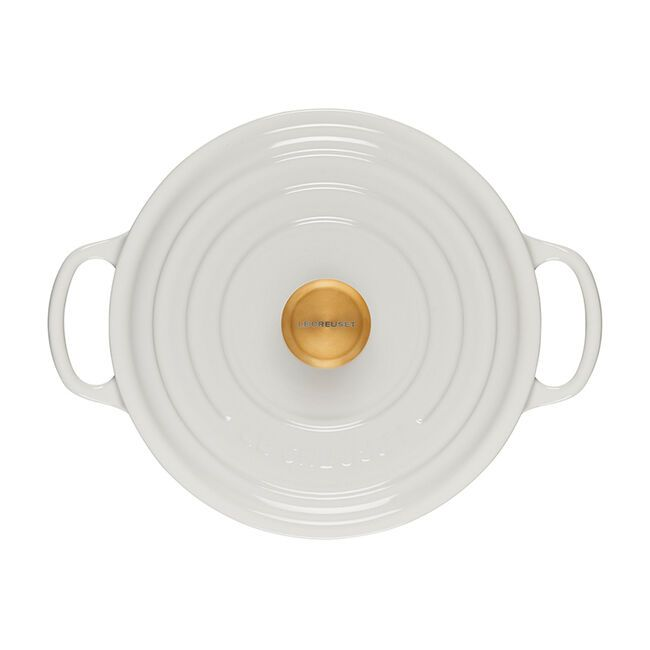 Le Creuset's New Collection Is Gold and So Gorgeous, and Includes the Popular Dutch Oven