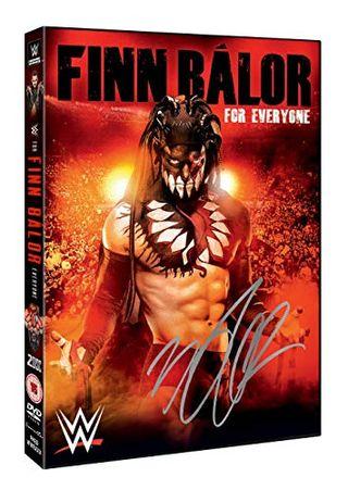 WWE: Finn Bálor - For Everyone (Hand Signed Alternative Sleeve) [DVD]