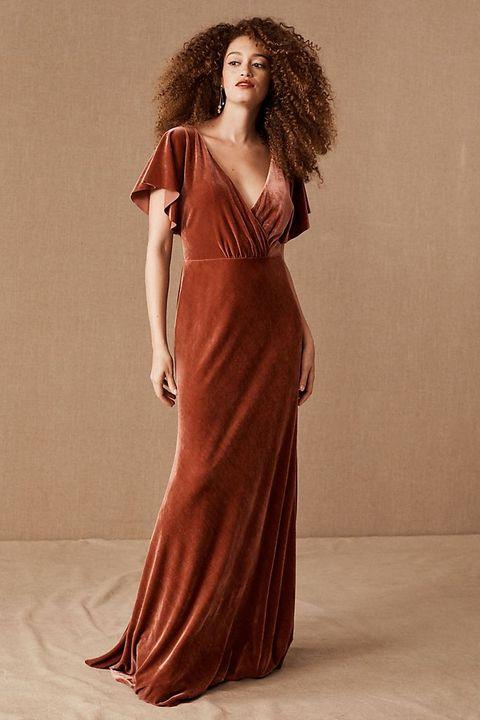 What To Wear To A Fall Wedding 2020 26 Fall Wedding Dress Ideas,Plum Wedding Dresses