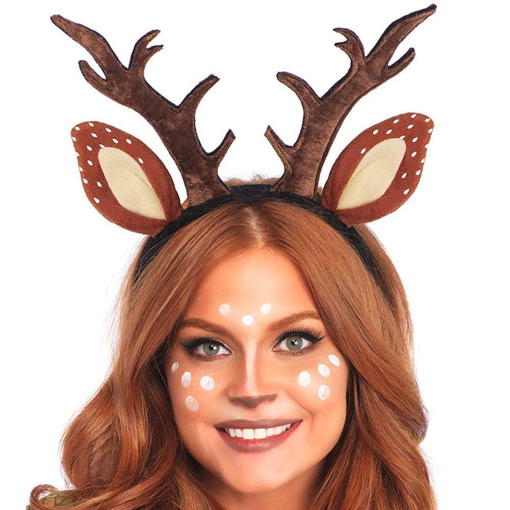 toddler dress up sparkly deer dress up felt fawn mask Deer Halloween mask girls Halloween costume