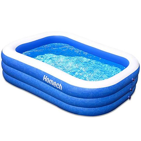 The Homech Inflatable Swimming Pool Will Help You Beat The Heat
