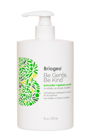 Briogeo Be Gentle Be Kind Avocado + Quinoa Совместная стирка
