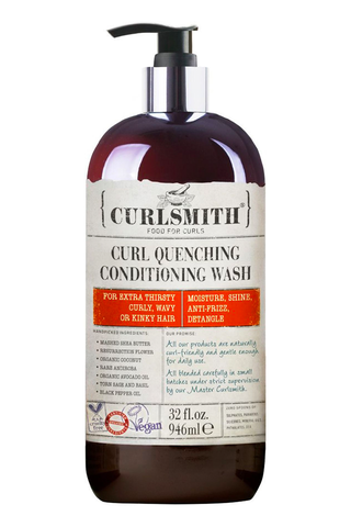 Очищающий гель Curlsmith Curl Quenching Conditioning Wash