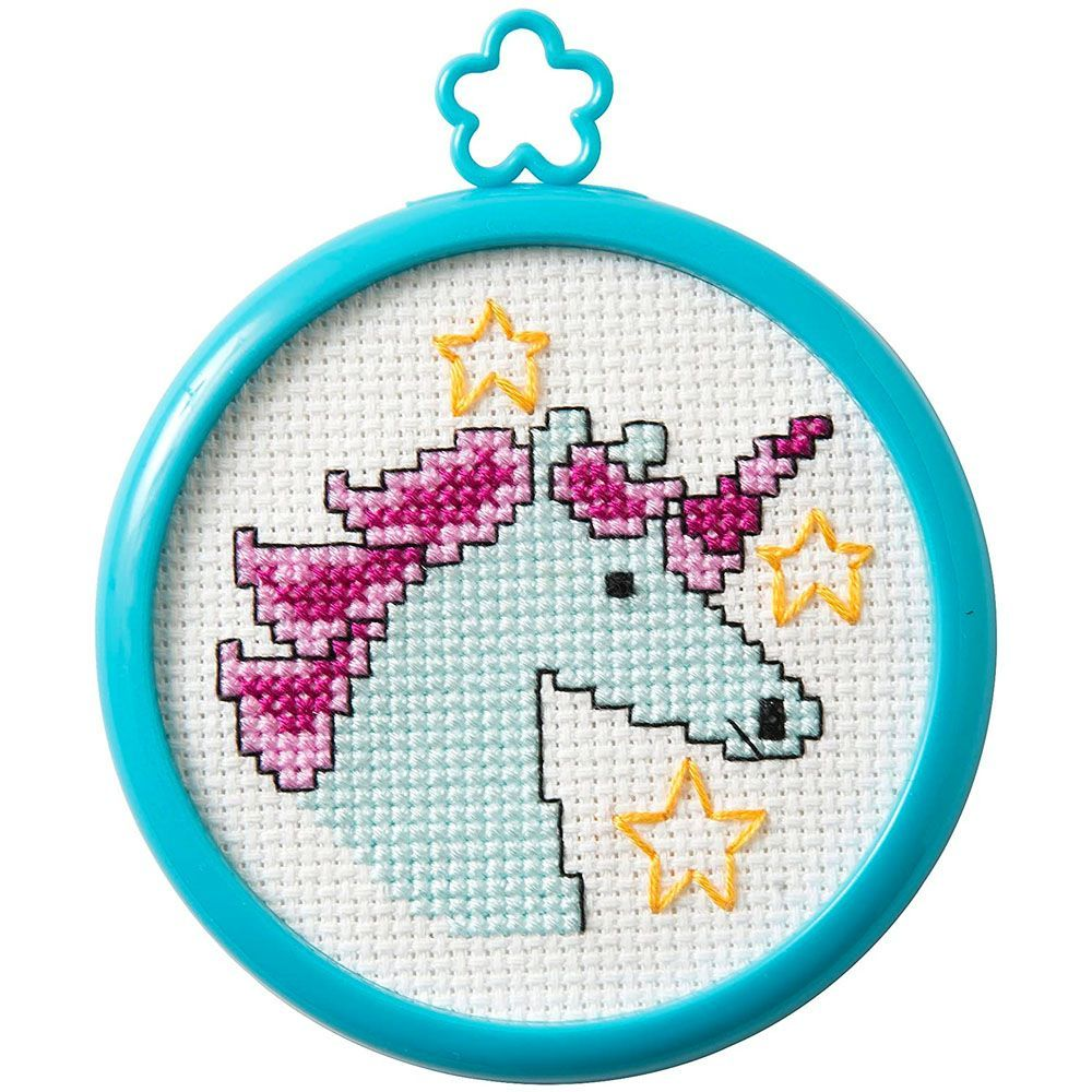 3 Styles Embroidery Sewing Tools for Adults and Kids Beginners Embroidery Kit for Beginners DIY Cross Stitch Kits with Pattern and Instructions