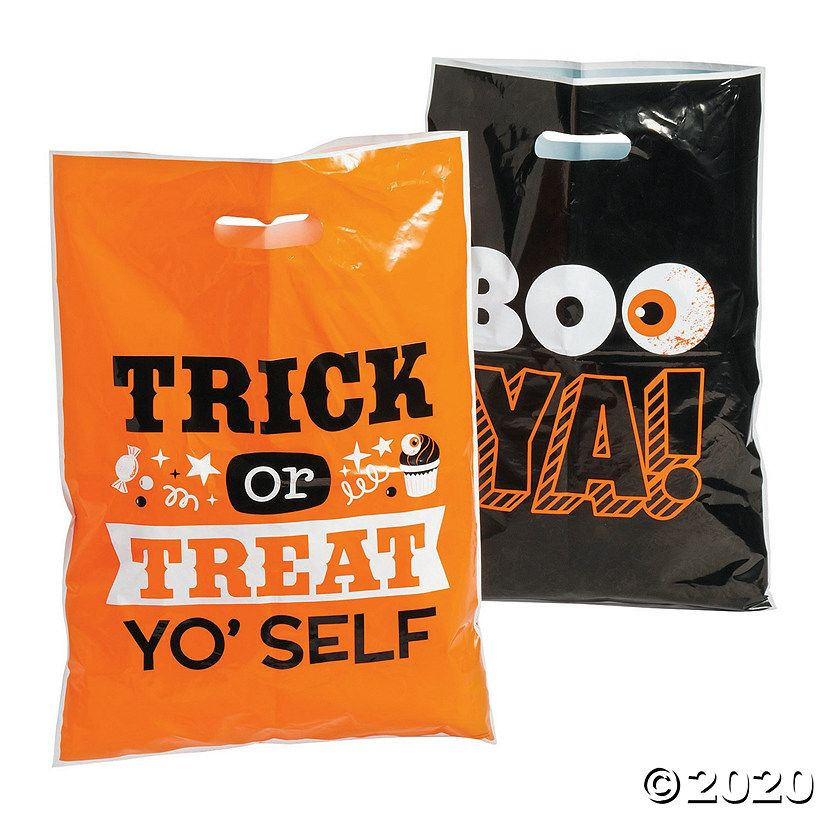 2020 Halloween Tote Ideas 20 Best Halloween Treat Bags 2020   Goodie Bags for Candy and