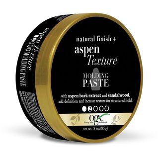 Natural Finish + Aspen Texture Molding Paste