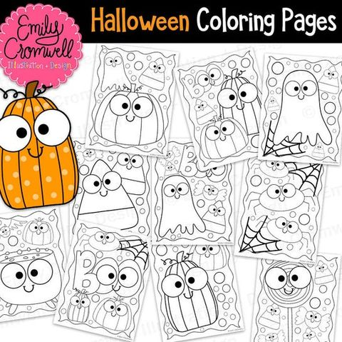 15 Best Halloween Coloring Pages Printable Halloween Coloring Pages For Kids